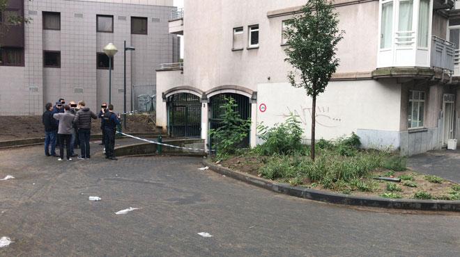 Saint-Gilles: incendie dans un parking sous-terrain non loin de la porte de Hal