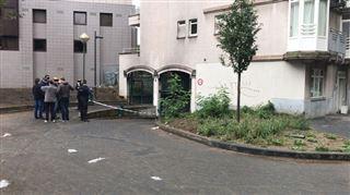 Saint-Gilles- incendie dans un parking sous-terrain non loin de la porte de Hal 5
