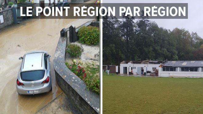 Coulées de boue, toits envolés- la province de Namur particulièrement touchée par les intempéries 1