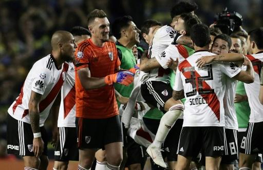 River Plate remporte le clasico argentin contre Boca Juniors