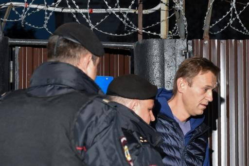 Russie: l'opposant Alexeï Navalny arrêté dès sa sortie de prison