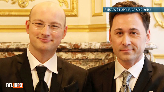 Insultes homophobes, couronnes funéraires... depuis leur mariage, Stéphane et Vincent sont attaqués par une partie de leur entourage