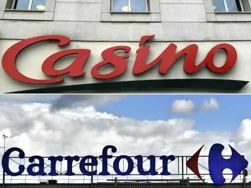 Passe d'armes entre Carrefour et Casino autour de l'échec d'un projet de rapprochement