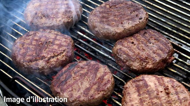 Neuf tonnes de hamburgers saisis dans une entreprise à Anderlecht: un mélange non conforme découvert