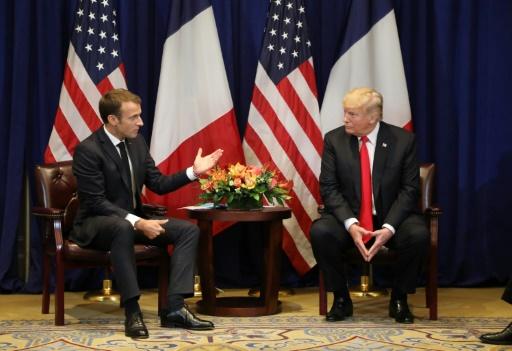 Macron et Trump cherchent à atténuer leurs divergences (Elysée)
