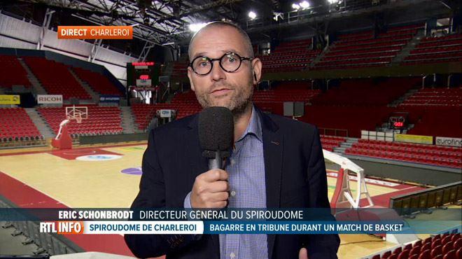 Le directeur du Spiroudome de Charleroi réagit suite aux incidents- On a vu partir des familles avec des enfants en pleurs