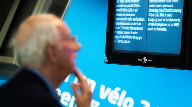 Le trafic de trains interrompu suite à un dégagement de fumée en gare de Mons