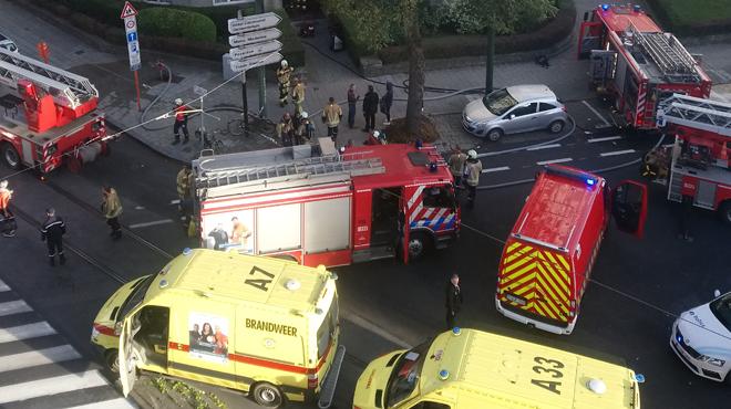 L'avenue de Broqueville à Woluwe-Saint-Lambert fermée: que s'est-il passé? (photo)