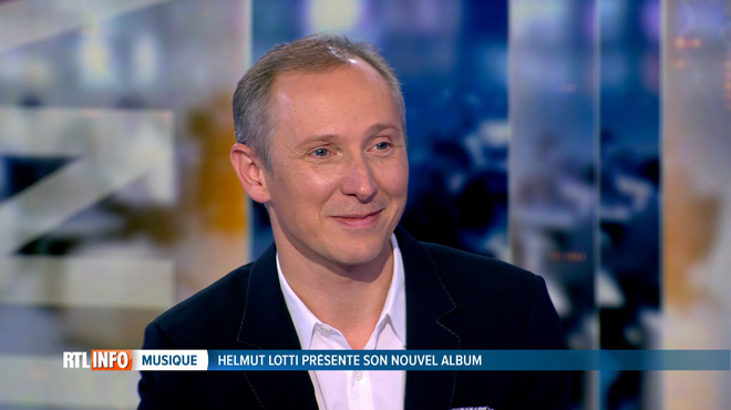 Le chanteur Helmut Lotti sort un nouvel album: