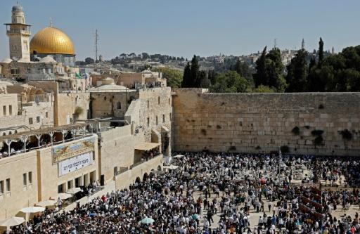 Des milliers de juifs réunis à Jérusalem pour la