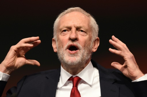 En plein chaos du Brexit, Jeremy Corbyn se dit