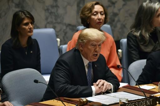 A l'ONU, Trump dénonce l'Iran mais s'isole de ses alliés