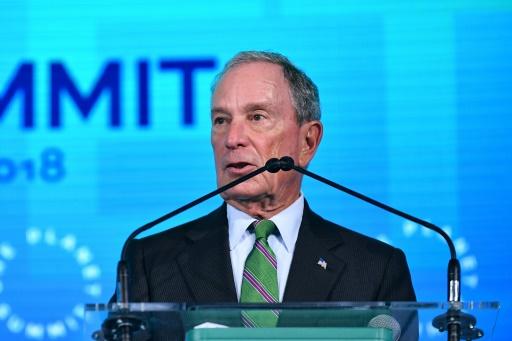 Michael Bloomberg, contre le changement climatique et contre Trump