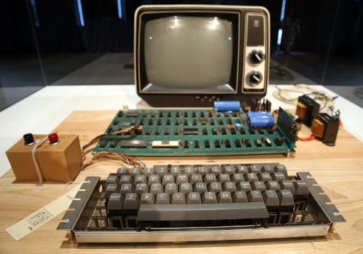 Un ordinateur Apple 1 vieux de plus de 40 ans vendu 375.000 dollars