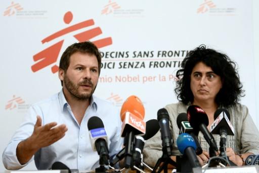 MSF lance un appel au monde pour que l'Aquarius obtienne un pavillon