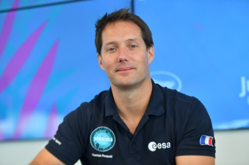 Thomas Pesquet, astronaute caméraman