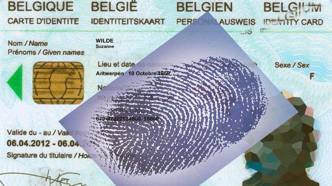 Vous devrez bientôt donner vos empreintes pour votre carte d'identité