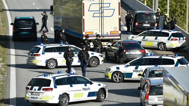 Chasse à l'homme SPECTACULAIRE au Danemark: