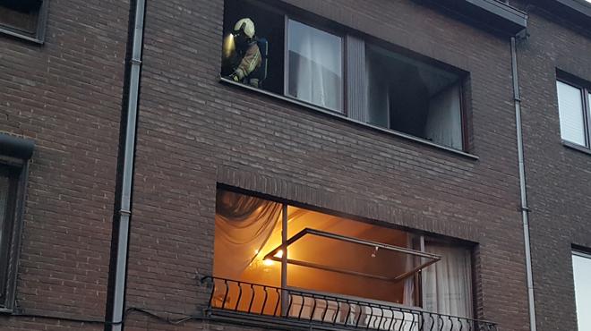 Incendie dans un appartement à Jumet: une dame âgée brûlée