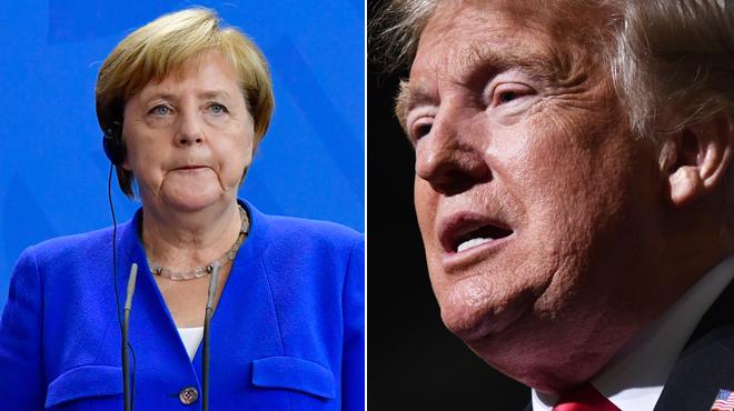 La mise en garde d'Angela Merkel envers Donald Trump: