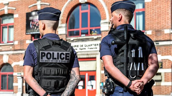 Un Belge suspecté d'avoir poignardé mortellement un chef de police français