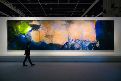 Une peinture de Zao Wou-Ki atteint 65 millions de dollars US à Hong Kong