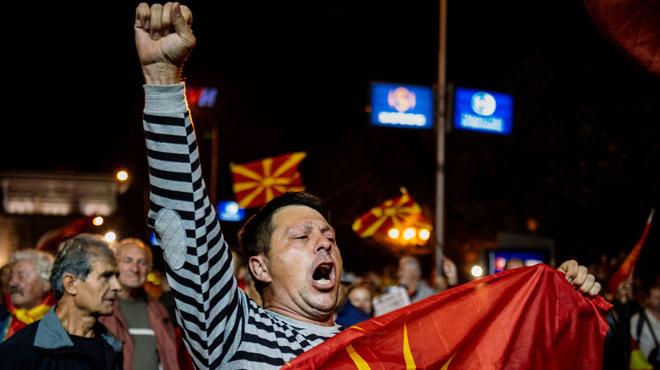 En Macédoine, plus de 90% de