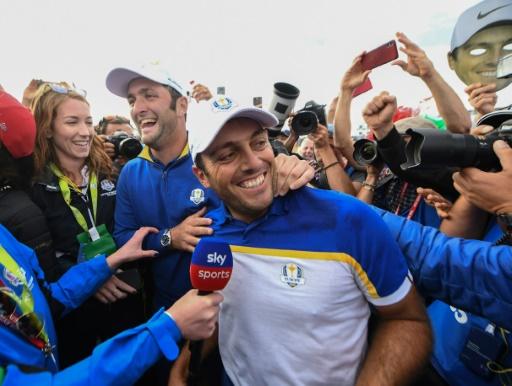 Ryder Cup: l'Italie acclame Francesco Molinari, alias