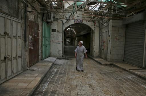 Grève des Palestiniens contre la loi israélienne sur