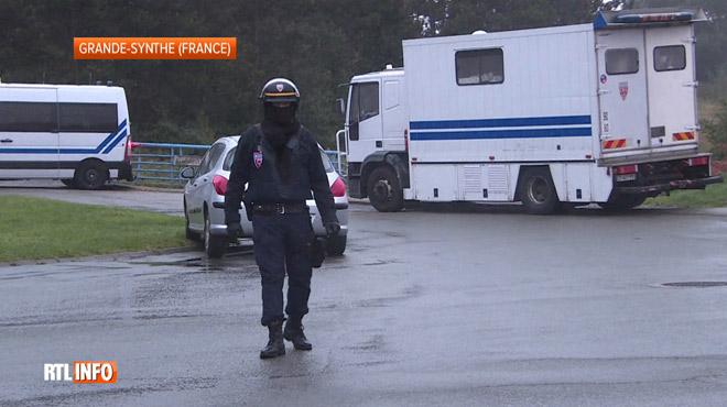 Grande opération antiterroriste dans le nord de la France, au
