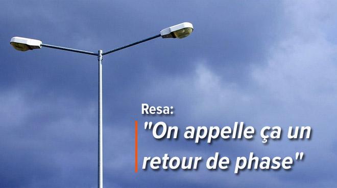 Dans deux rues d'Amay, l'éclairage public ne s'éteint plus DEPUIS TROIS SEMAINES: