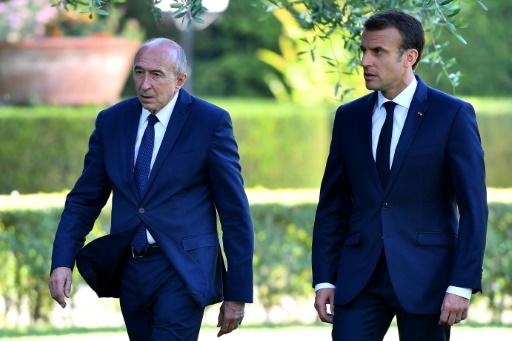 Démission de Collomb: Macron