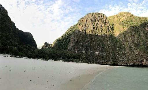 Thaïlande: la baie rendue célèbre par le film