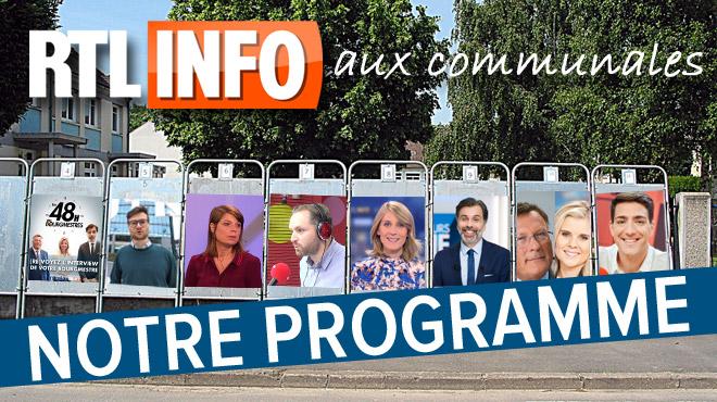 RTL info se présente aux élections communales: voici son programme