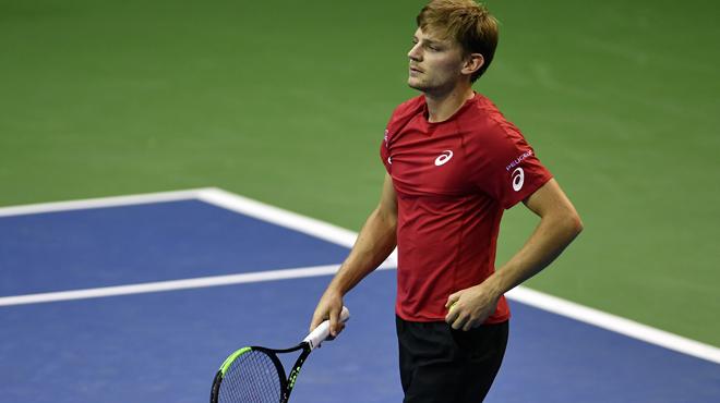 ATP: Saison terminée pour Goffin
