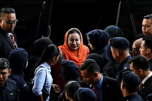 Scandale 1MDB: inculpation de l'épouse de l'ex-Premier ministre de Malaisie