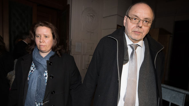 Tous deux accusés d'assassinat, Christian Van Eyken épouse sa compagne à quelques jours du procès