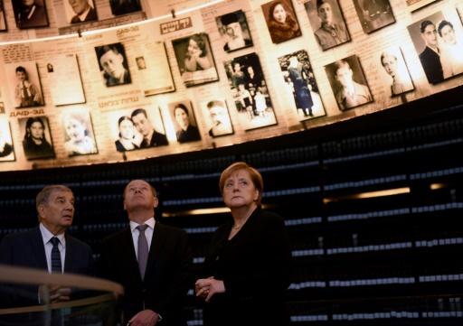 Merkel évoque à Jérusalem la