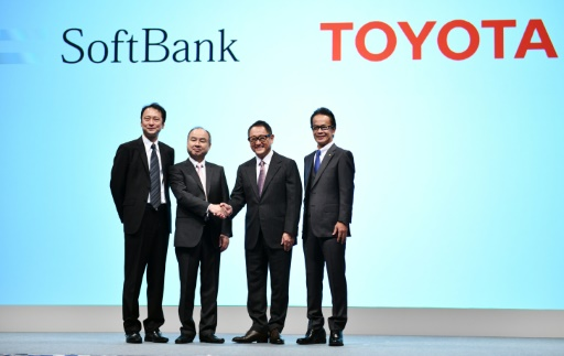 Dans la course à la voiture autonome, alliance surprise entre Toyota et SoftBank