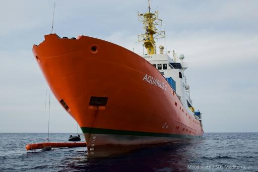 L'Aquarius, dont l'activité est en sursis, est arrivé à Marseille