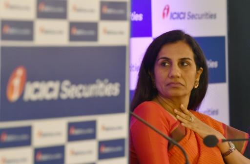 Affaire de favoritisme: la patronne de la banque indienne ICICI démissionne