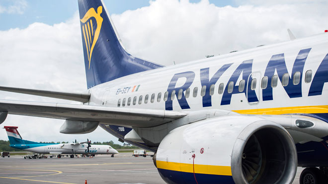 La compagnie Ryanair annonce qu'elle ne doit pas dédommager ses clients lors d'une grève interne