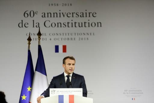 Macron annonce le retour de la réforme constitutionnelle devant l'Assemblée début janvier