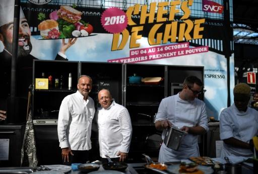 Cinq chefs étoilés lancent une opération gastronomique dans les gares françaises