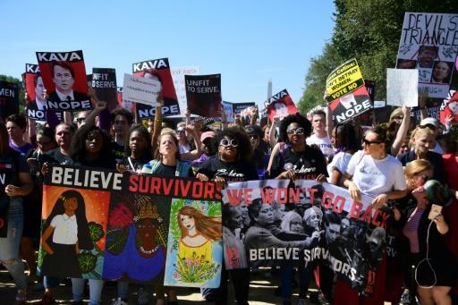 Plusieurs milliers de manifestants à Washington contre le juge Kavanaugh
