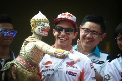 MotoGP: Marquez confiant avant la première thaïlandaise en Grand Prix
