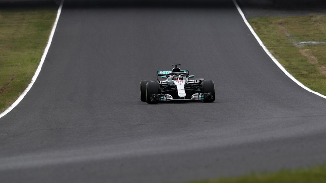 F1 : Lewis Hamilton gagne le Grand Prix du Japon