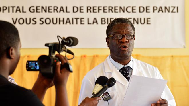 Le Nobel de la paix au docteur Mukwege,