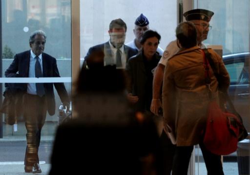 Alexandre Benalla au tribunal de Paris pour être entendu par les juges d'instruction