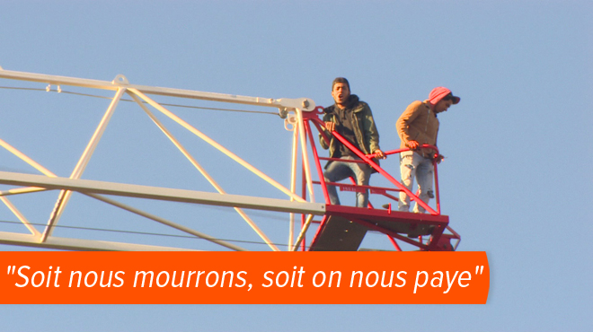 Ces ouvriers ne sont plus payés depuis des semaines et dénoncent leur entreprise:
